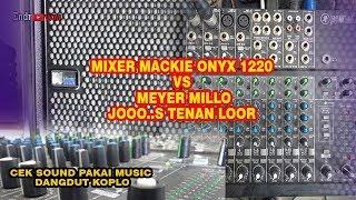 M XER MACK E 1220  VS SPEAKER MEYER SOUND M LO GSM