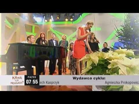 Magda Steczkowska – Przybieżeli do Betlejem – Magda Steczkowska i Zosia Królik. TVP, Kawa czy herbata. Warszawa 2011