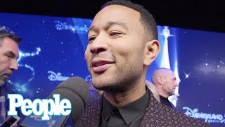 John Legend Opens Up About 'Beauty & The Beast', Performs At Disneyland Paris | People