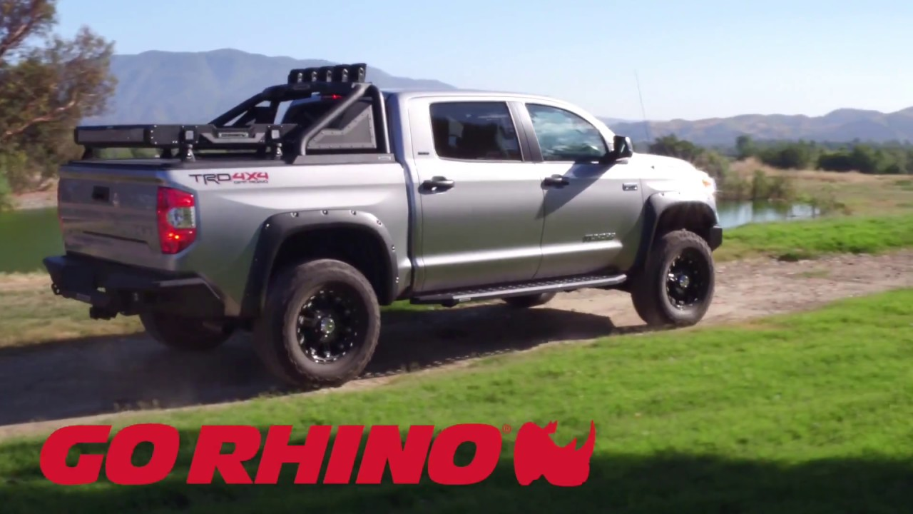 Go Rhino Rb20 Running Boards For Toyota Tundra Crewmax