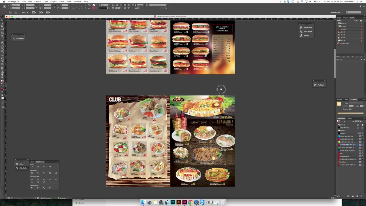 Print booklet from indesign youtube.