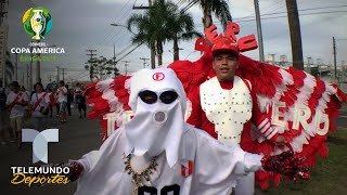 El fantasmita del 69 y el Niño Cóndor se roban el show en la Copa América | Telemundo Deportes