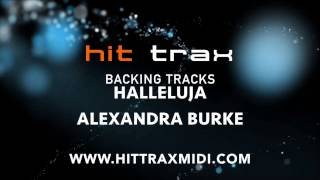 Hallelujah (in the style of) Alexandra Burke (MIDI Instrumental karaoke backing track)
