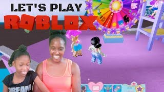Playing ROBLOX ROYALE 🏰 HIGH With My Daughter For The FIRST TIME EVER!!