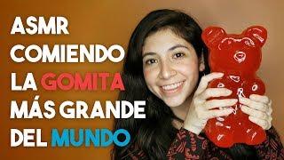 ASMR En Español - ¡Comiendo La Gomita Más Grande Del Mundo! 🌎