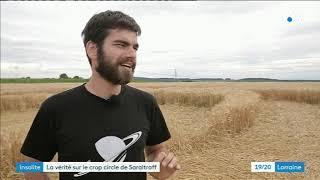 La vérité sur les crop circles - Astronogeek