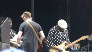 """Buddy's Blues"" Buddy Guy & Quinn Sullivan@RFK Stadium Washington DC 7/4/15"