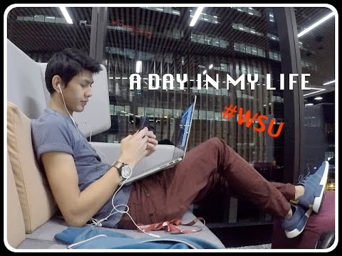 A Day in My Uni Life / WSU Campus Tour