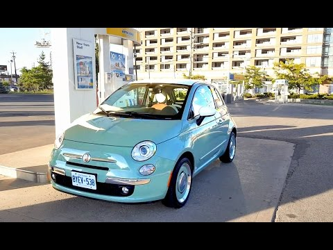 2017 Fiat 500 Review - Fuel Economy Test + Fill Up Costs