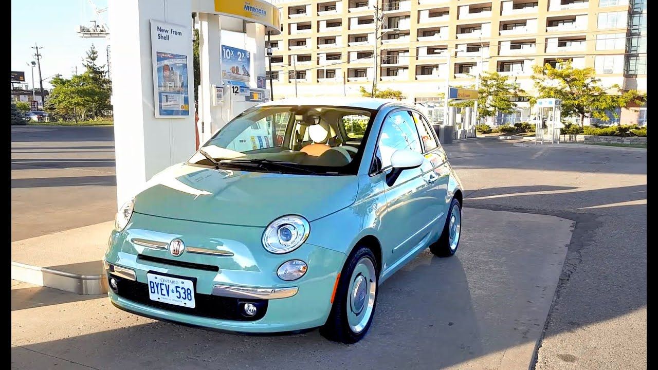 2017 Fiat 500 Review - Fuel Economy Test + Fill Up Costs - YouTube