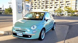 2018 Fiat 500 Review - Fuel Economy Test + Fill Up Costs