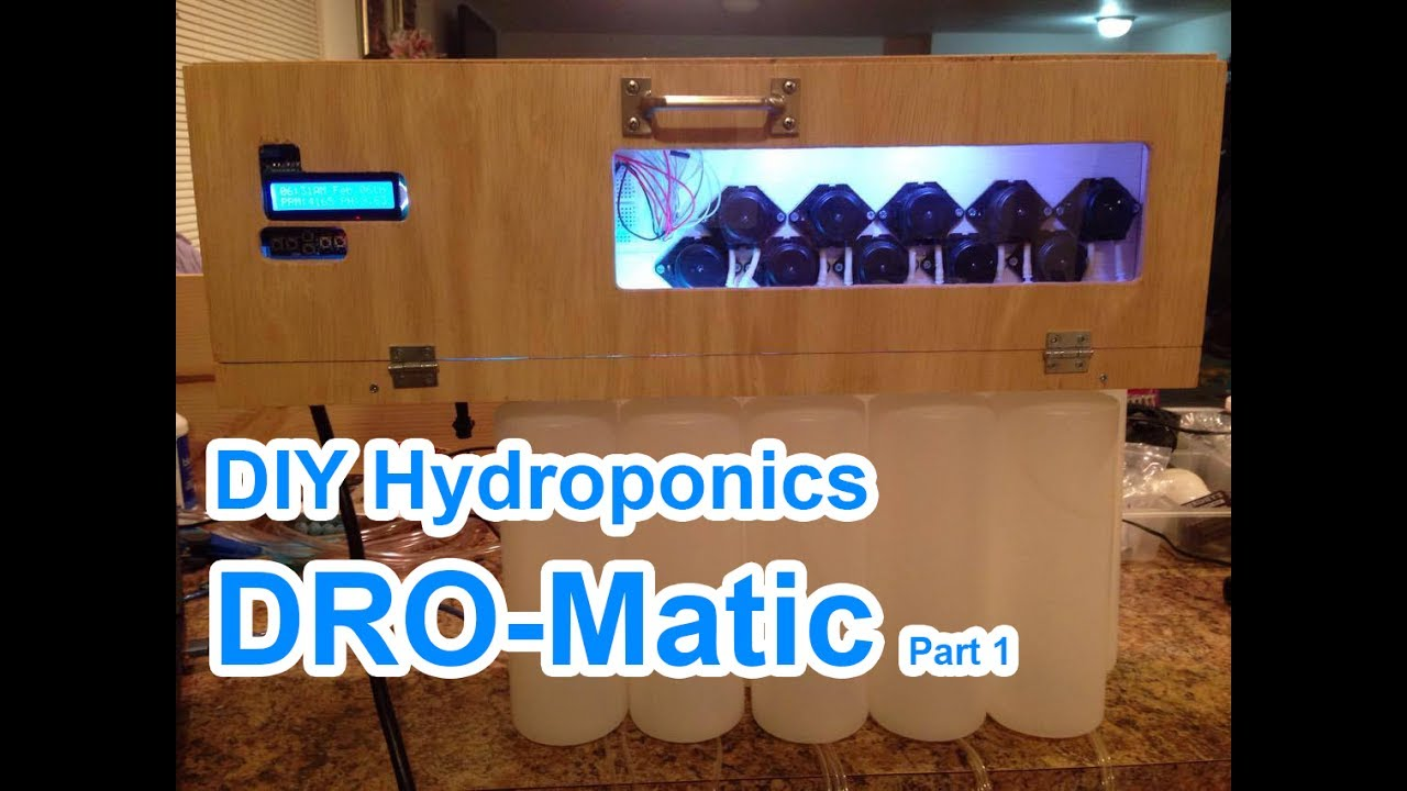 DIY Automatic Hydroponic Nutrient Doser #1