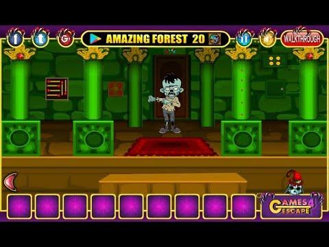 G4e Halloween Party House Escape 05 Walkthrough