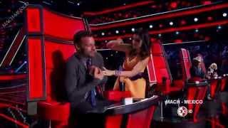 Ricky Martin en La Voz Mexico 4 Programa 2