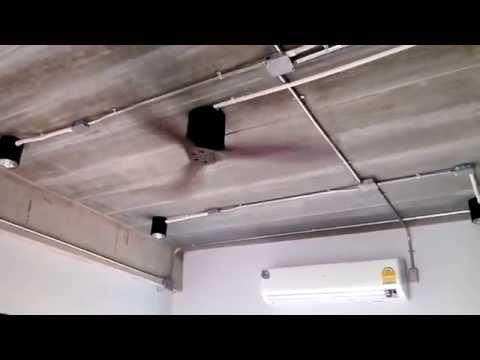 พัดลมเพดาน ไม้จริง 3ใบพัด