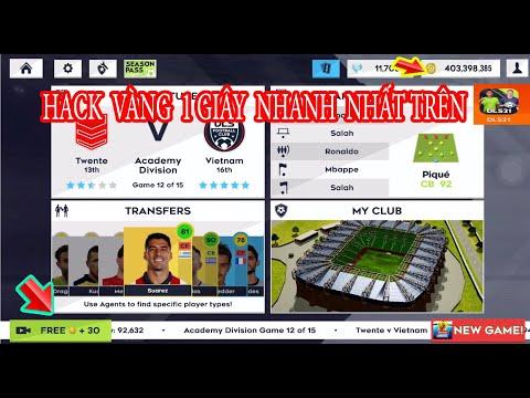 cách hack tiền game dream league soccer - HƯỚNG DẪN HACK VÀNG QUẢNG CÁO NHANH NHẤT TRÊN DLS 2021 MỚI NHẤT