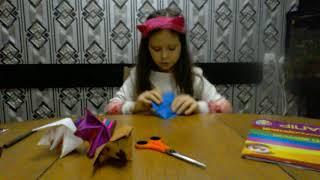 Как делать из бумаги собаки-кусаки KARINA PLAY