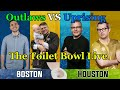 Outlaws vs uprising the toilet bowl live reaction  ft packing10 achilios tridd  more