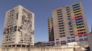 Ex palazzo di cemento di Librino, a sei mesi dalla consegna è già un rudere