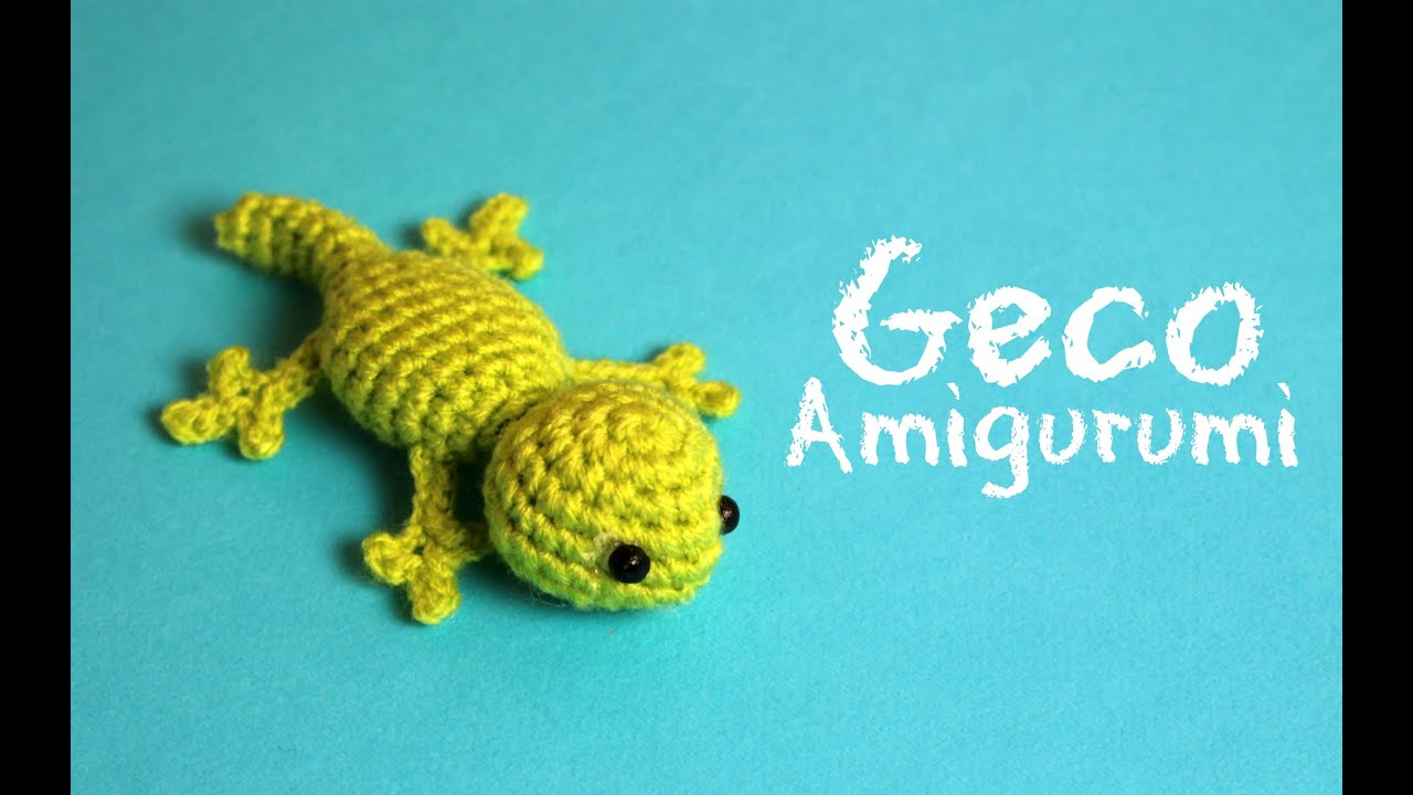 Geco Amigurumi | World of Amigurumi - YouTube