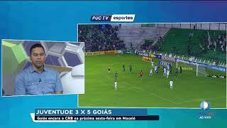 SURPREENDEU! Com virada incrível Goiás vence o Juventude