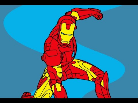 Iron Man Avengers Coloring Games YouTube