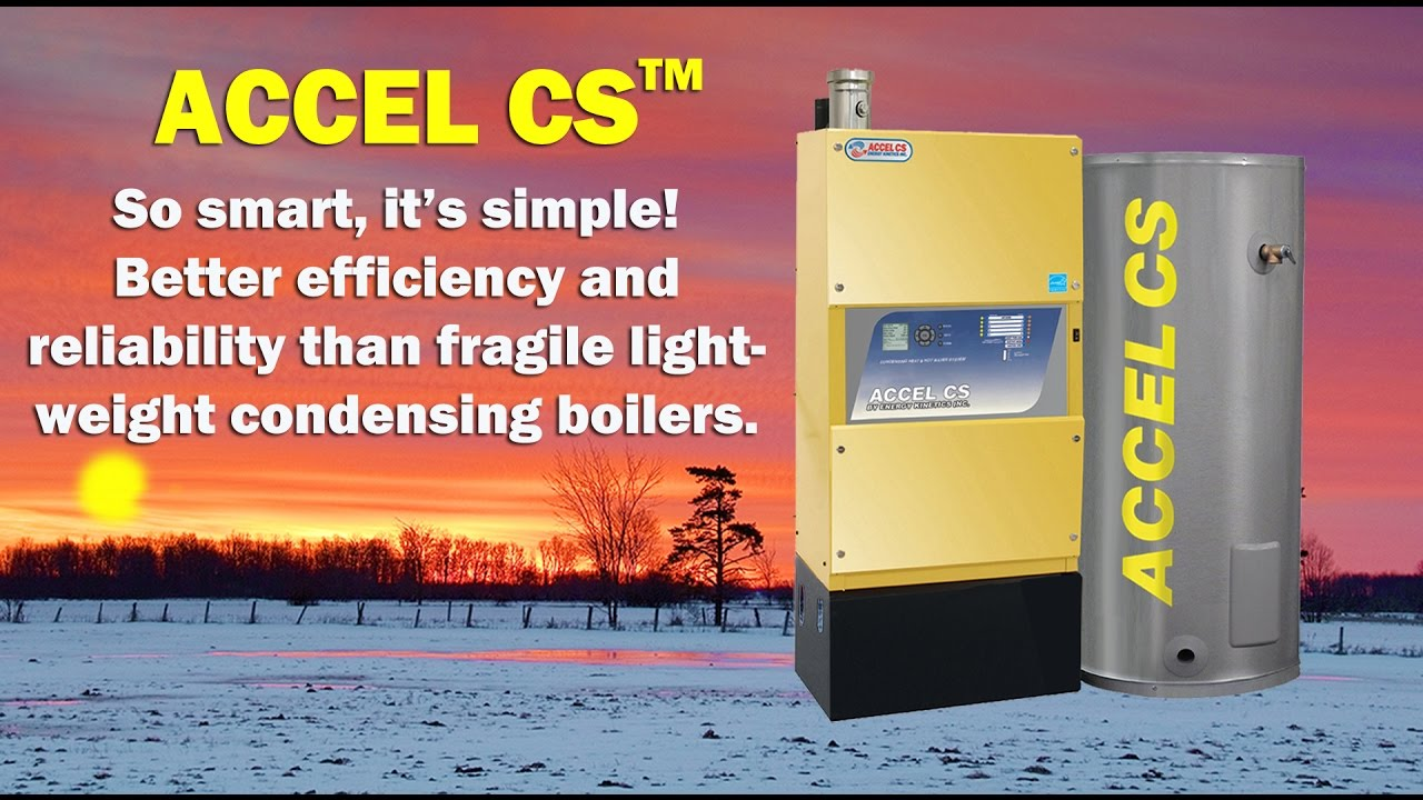 Energy Kinetics Accel CS Most Efficient and Best Condensing Boiler