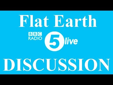 Flat Earth Conference Media 5 - BBC Radio 5 - Mark Sargent ✅