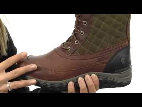 Ariat Jena H20 Insulated SKU:#8184600 - YouTube