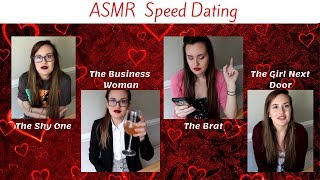 [ASMR] TINGLES for SINGLES! Speed Dating Roleplay