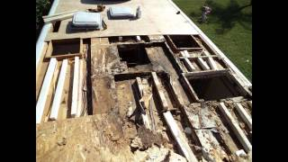 EPDM RV Rubber Roof Replacement