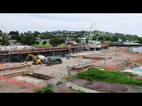 Wulanda Recreation and Convention Centre - Construction Time-lapse February 2021