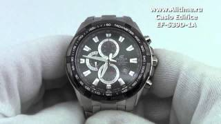 Мужские японские наручные часы Casio Edifice EF-539D-1A(Подробное описание здесь: http://www.alltime.ru/catalog/watch/374/casio-edifice/Man/9160/detail.php?ID=98223&back=list., 2013-04-03T10:49:32.000Z)