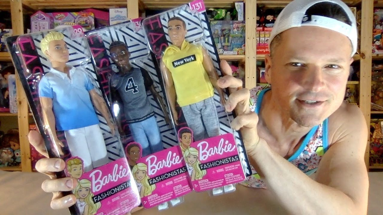 Barbie KEN fashioniste 129 NUOVO