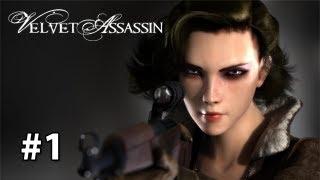 Velvet Assassin - Gameplay/Walkthrough [Pc] Part 1