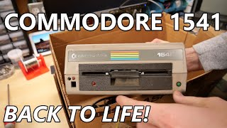 Fixing a Commodore 1541 Disk Drive
