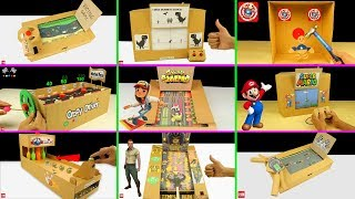 10 Amazing Cardboard Games Compilation