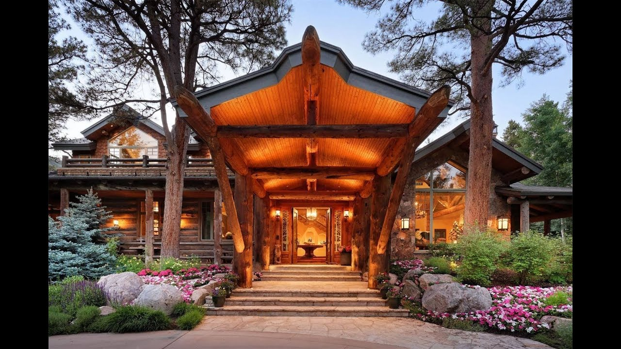Magnificent Cabin In The Woods In Aspen Colorado Sotheby S International Realty