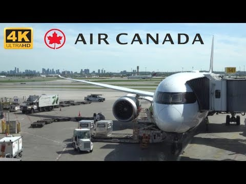 [4K] TRIP REPORT | Air Canada | Boeing 787-9 Dreamliner | Vancouver To Toronto