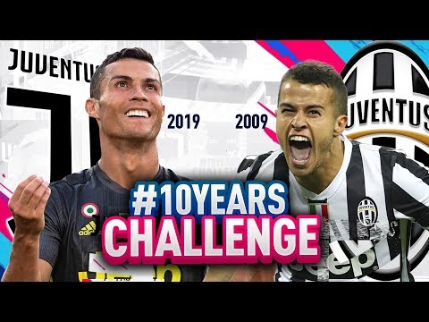 JUVENTUS Del 2009 VS JUVENTUS Del 2019! #10YEARSCHALLENGE