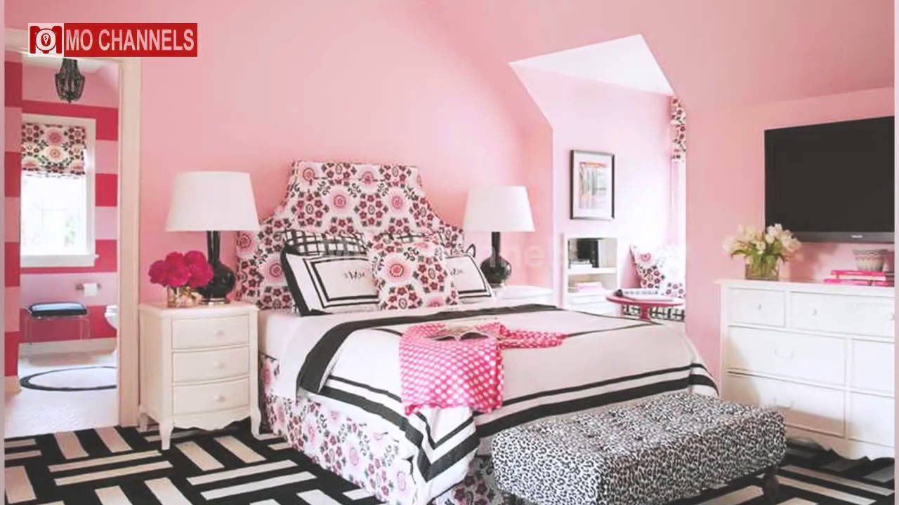 30 Cool Teen Girl Bedrooms 2017 - Amazing Bedroom Design ... on Beautiful Teenage Bedrooms  id=55001