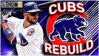 CHICAGO CUBS REBUILD!   MLB the Show 18 Franchise Rebuild