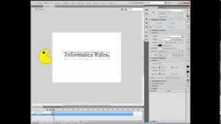 Como hacer una animacion de Pacman con Adobe Flash Professional