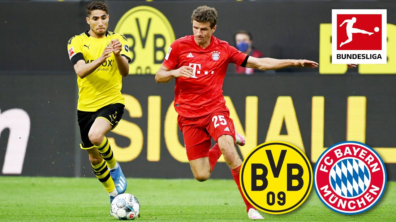 Borussia Dortmund vs. FC Bayern München I Spectacular Kimmich Goal Decides 'Der Klassiker'