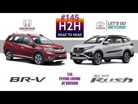 H2H #145 Honda BR-V vs Toyota ALL NEW RUSH