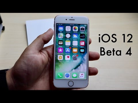 iOS 12 BETA 4 On iPHONE 6S! (Review)