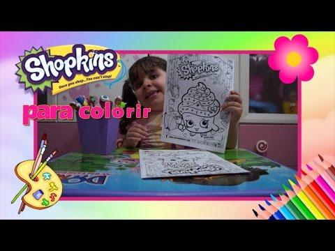 shopkins para colorir youtube