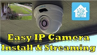 Reolink 5 megapixel PoE Camera - Install and Streaming with Home Assistant