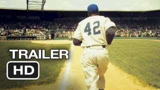42 Official Trailer #1 (2012) - Harrison Ford Movie - Jackie Robinson Story HD