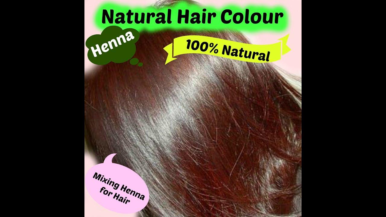 henna hair in english natural